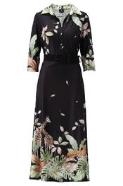 K-design - Lang kleed - Zwart-groen