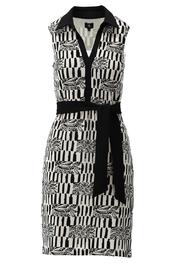 K-design - Halflang Kleedje - Zwart-wit