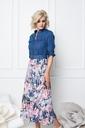 K-design - Lang kleed - Blauw-roze