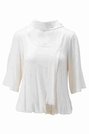 K-design - Blouse - Ecru