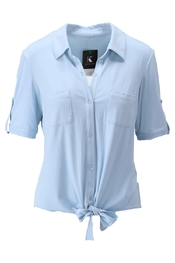 K-design - Blouse - Blauw