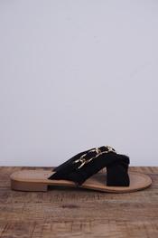 Garde-robe - Sandalen - Zwart