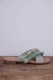 Garde-robe - Sandalen - Munt