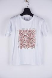 Garde-robe - T-shirt - Munt-roze