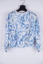 Garde-robe - Pull - Wit-blauw