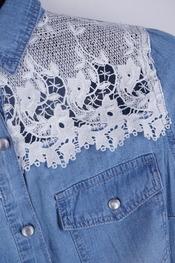 Garde-robe - Top - Jeans licht