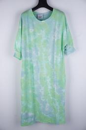 Garde-robe - Lang kleed - Blauw-groen