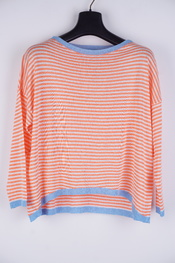 Amelie-amelie - Pull - Wit-oranje