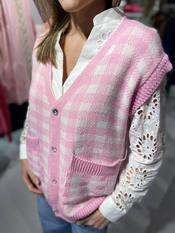 Garde-robe - Debardeur - Wit-roze