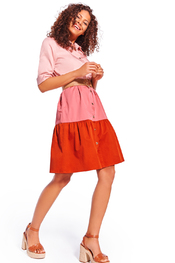 Caroline Biss - Kort Kleedje - Roze