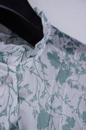 Garde-robe - Blouse - Wit-groen