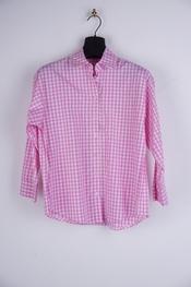 Garde-robe - Blouse - Wit-roze