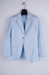 Garde-robe - Blazer - Wit-blauw