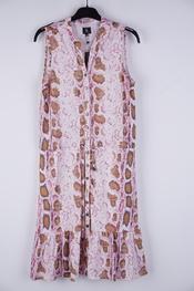 K-design - Halflang Kleedje - Roze-beige