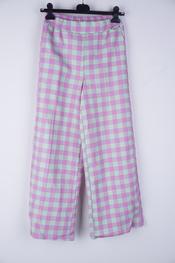 Garde-robe - Lange Broek - Paars-munt