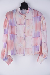 Garde-robe - Blouse - Paars-roze