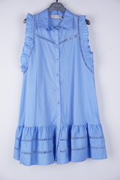 Amelie-amelie - Kort Kleedje - Blauw