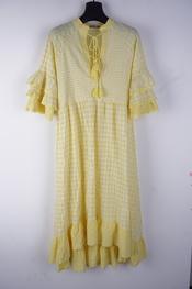 Garde-robe - Lang kleed - Geel