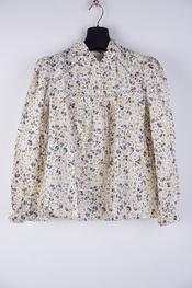 Garde-robe - Blouse - Blauw-beige