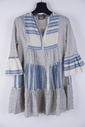 Garde-robe - Kort Kleedje - Blauw-beige