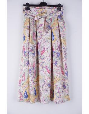 Garde-robe - Halflange Rok - Roze-beige