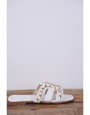 Garde-robe - Sandalen - Wit