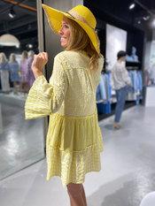 Garde-robe - Kort Kleedje - Geel