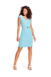 Caroline Biss - Kort Kleedje - Turquoise