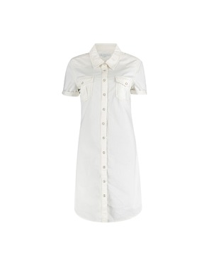 Garde-robe - Kort Kleedje - Ecru