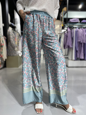 Garde-robe - Lange Broek - Turquoise