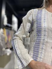 Garde-robe - Tuniek - Blauw-beige