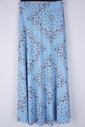 Garde-robe - Lange Rok - Blauw