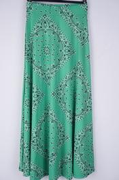 Garde-robe - Lange Rok - Groen