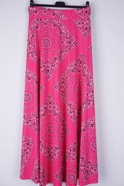 Garde-robe - Lange Rok - Fushia