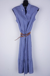 Amelie-amelie - Lang kleed - Blauw