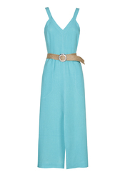 Caroline Biss - Lang kleed - Blauw