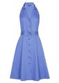 Caroline Biss - Halflang Kleedje - Blauw