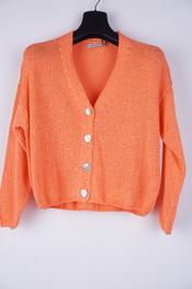 Amelie-amelie - Gilet - Oranje