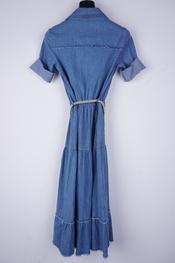 Garde-robe - Lang kleed - Jeans
