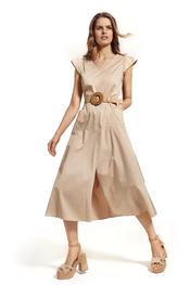 Caroline Biss - Lang kleed - Wit
