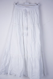 Garde-robe - Lange Rok - Wit