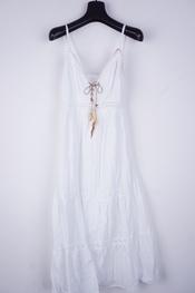 Garde-robe - Lang kleed - Wit