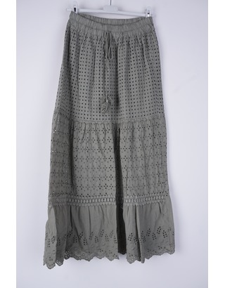 Garde-robe - Lange Rok - Kaki