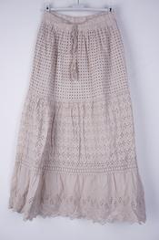 Garde-robe - Lange Rok - Beige