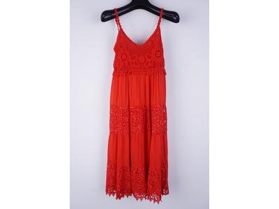 Garde-robe - Lang kleed - Rood