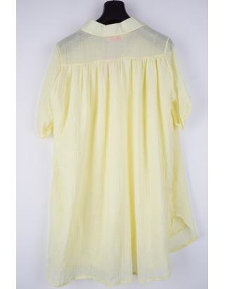 Garde-robe - Halflang Kleedje - Geel