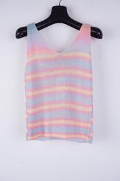 Garde-robe - Top - Blauw-roze