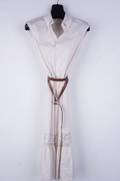 Amelie-amelie - Lang kleed - Beige