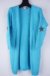 Garde-robe - Gilet - Turquoise
