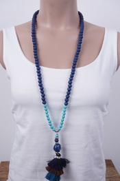Garde-robe - Halsketting - Blauw